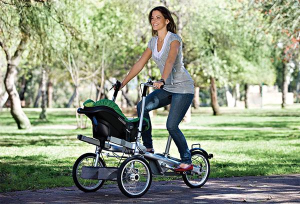 taga bike avec maxi cosi