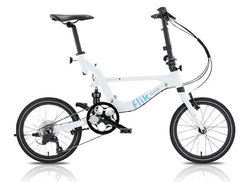Vélo Pliant Jango Flick Blanche