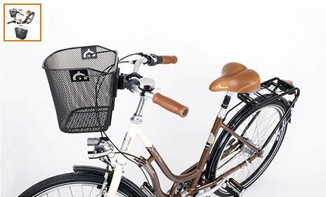 Acheter paniers avant et arriere pour vélo