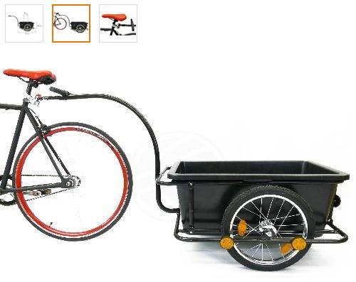 remorque deux roues pour vélo