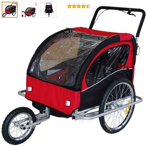remorque pour transporter enfants en vélo