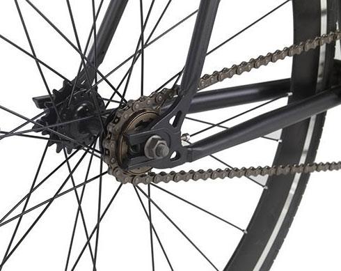 roue à pignon unique