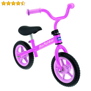 Chicco first bike rose pour enfant