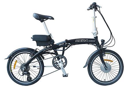 Vélo electrique pliant