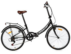 Vélo pliant Moma Bike First Class Noir